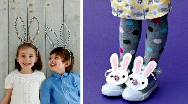 20 colorful party decoration ideas for Easter crafts with children