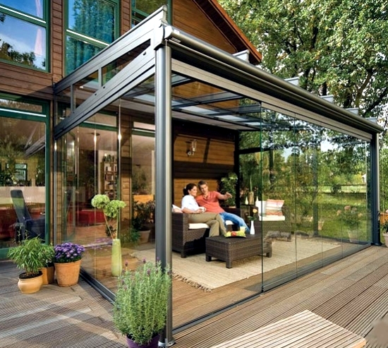 Glass Canopy For Your Terrace