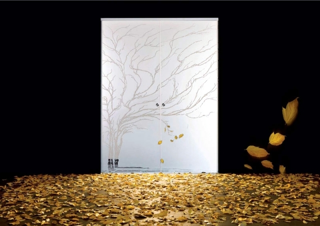 22 glass and wood doors modern design apartment