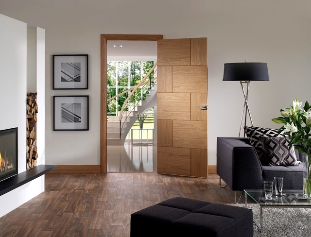 22 glass and wood doors modern design apartment