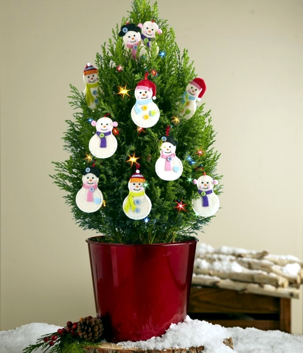 Christmas Tree in pot - the festive decor and beautiful addition to the garden
