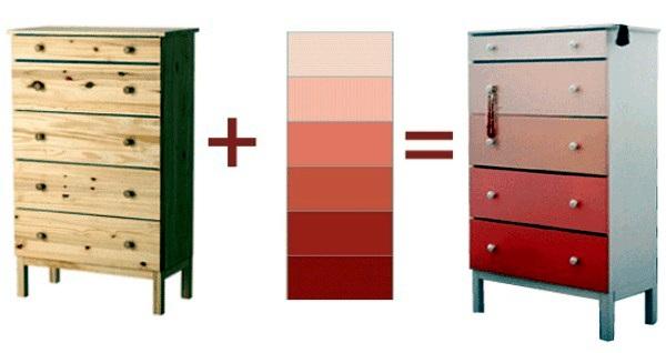 Ikea dresser embellish creative - creating the nursery
