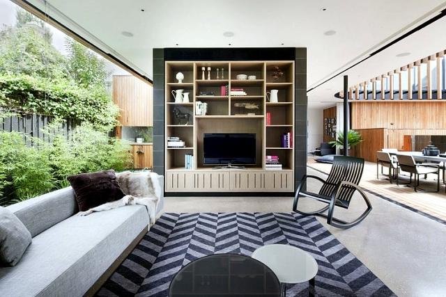Kooyong - Modern residence look skulpturellem