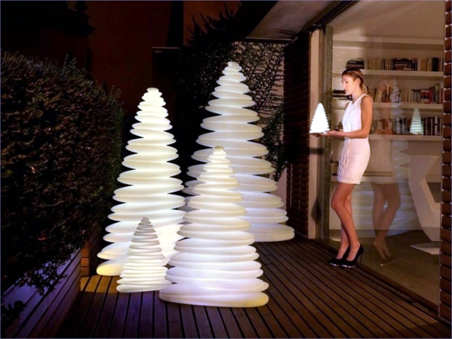 "LED Christmas lights lamp indoor and outdoor ""Chrismy"""