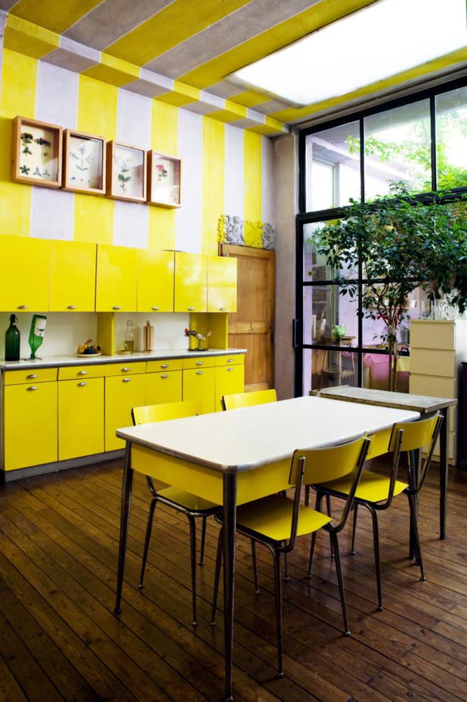 Yellow In The Dining Room Interior Design Ideas Ofdesign