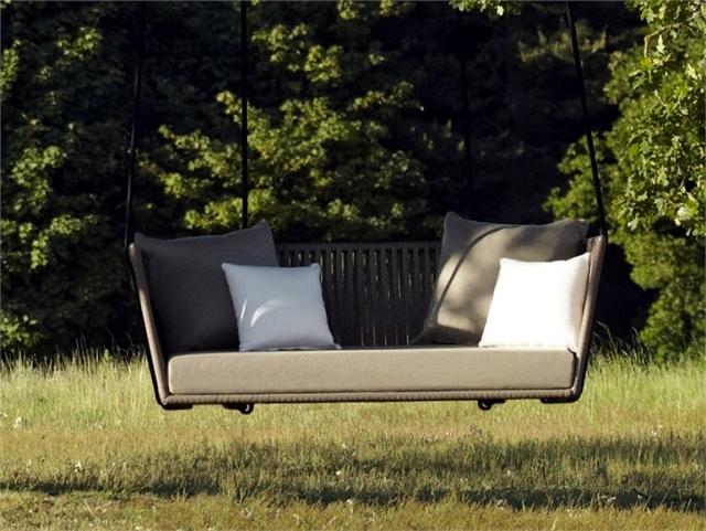 51 ideas for garden hammock, the pool and the house, providing idyll