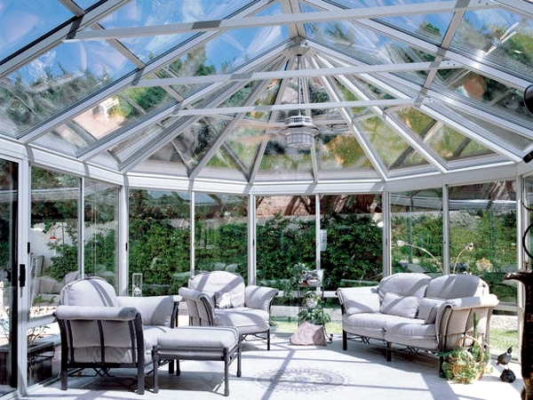 Conservatory Construction - materials and costs for home project culture
