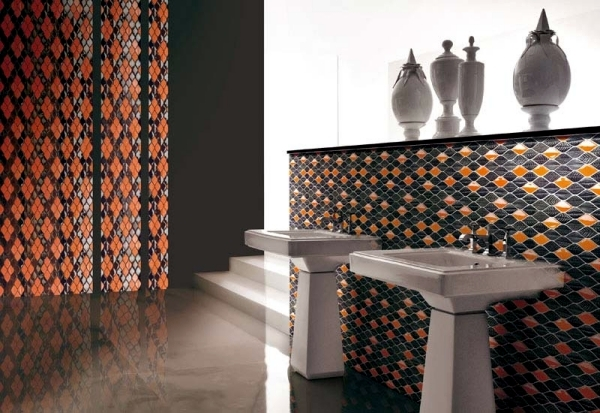 Vetrovivo mosaic tiles provide incredible variety of styles