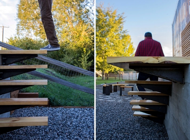 Full garden equipment wooden gazebo, greenhouse and living