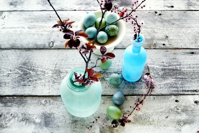 21 beautiful Easter decorating ideas and country style Shabby Chic