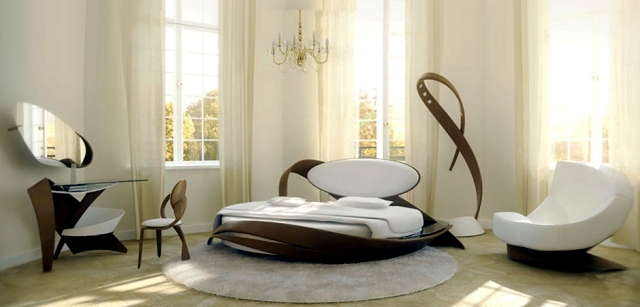 Wooden furniture of modern design – curves and unique finesse ...