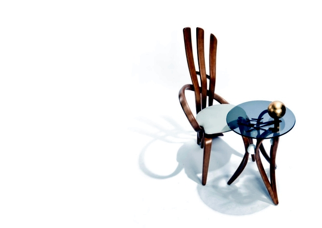 Wooden furniture of modern design - curves and unique finesse