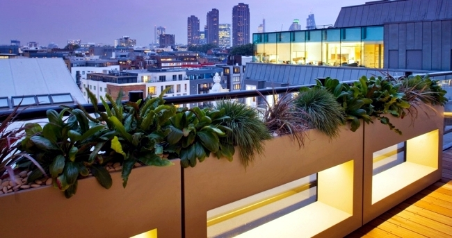 Design ideas to the roof terrace designer Amir Schlezinger