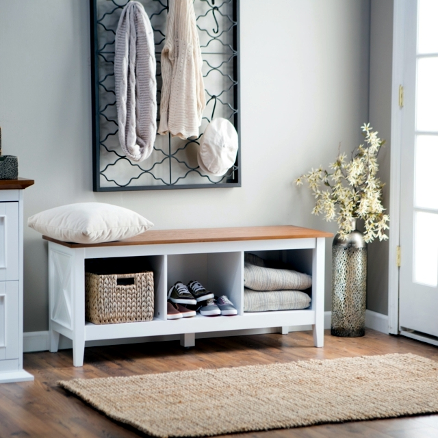 Storage bench in the hallway u2013 20 ideas for hallway space saving furniture : Interior Design ...