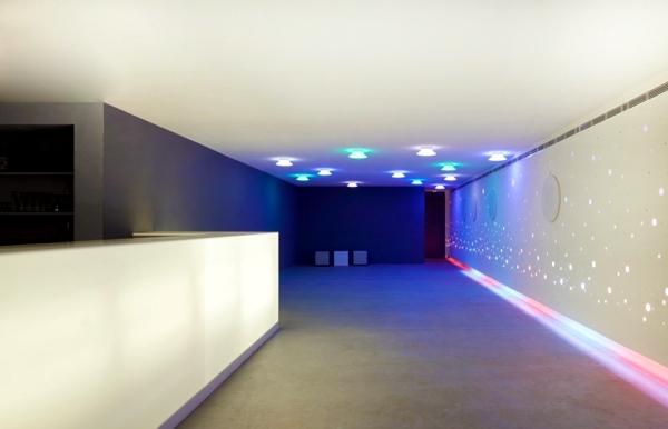 Bar Aquarium modern studio environment Next Level
