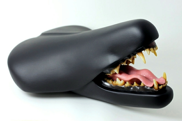 Upcycling Ideas Bicycle Seats Become Modern Sculptures