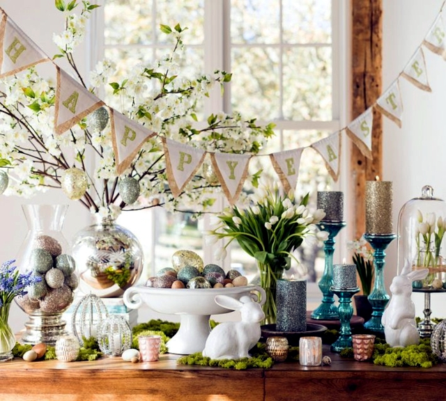 Easter Crafts Mood Spring Table Decoration Interior Design Ideas Ofdesign