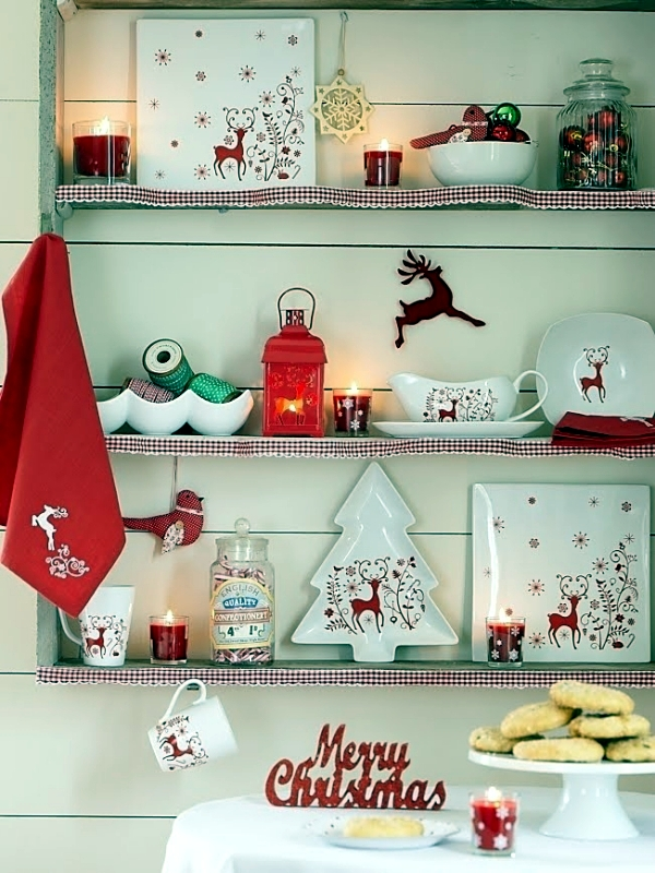 Red and White - Classic Christmas Farbduo