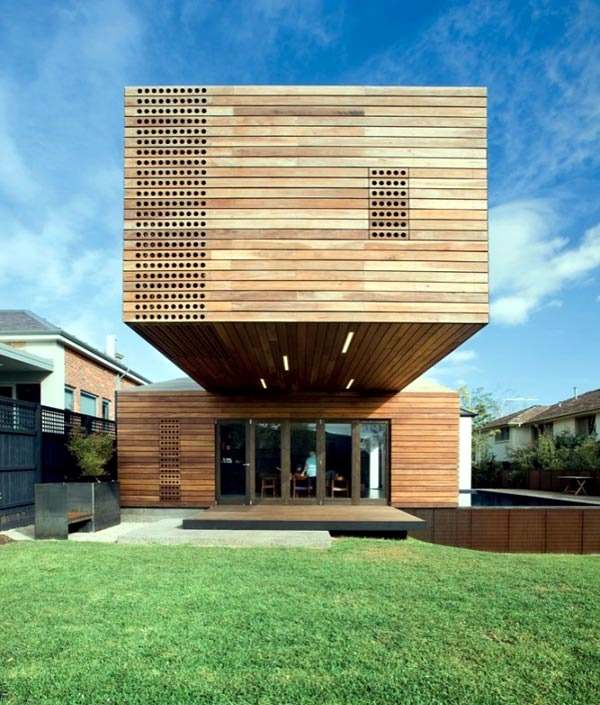 "Home Design Ideas Australia: The Wooden House ""Trojan Horse"" Jackson Clements Burrows"