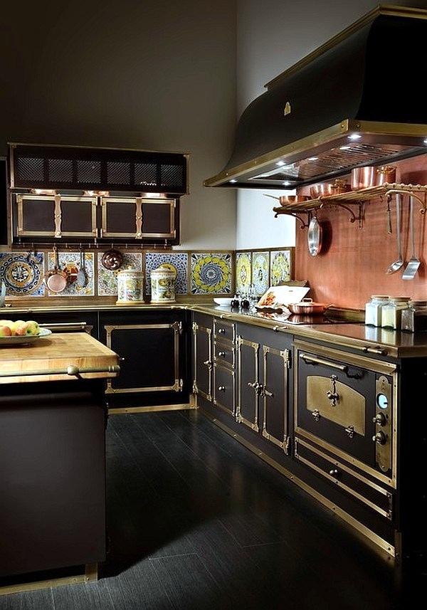 outstanding designer kitchens inspired exquisite | Modern interior design and exquisite decoration Steampunk ...