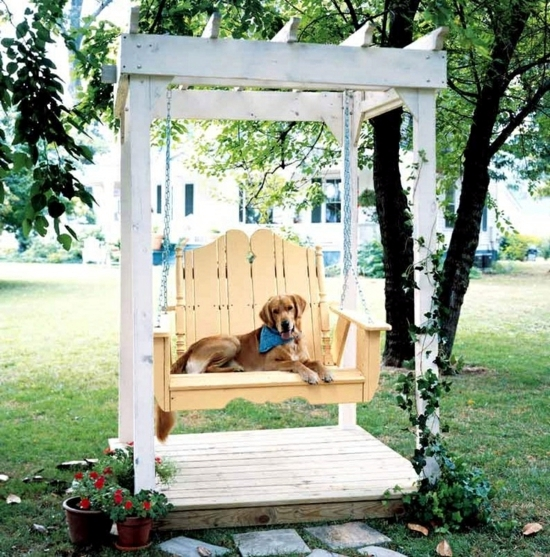 Swing in the Garden - List of materials, construction and patterns