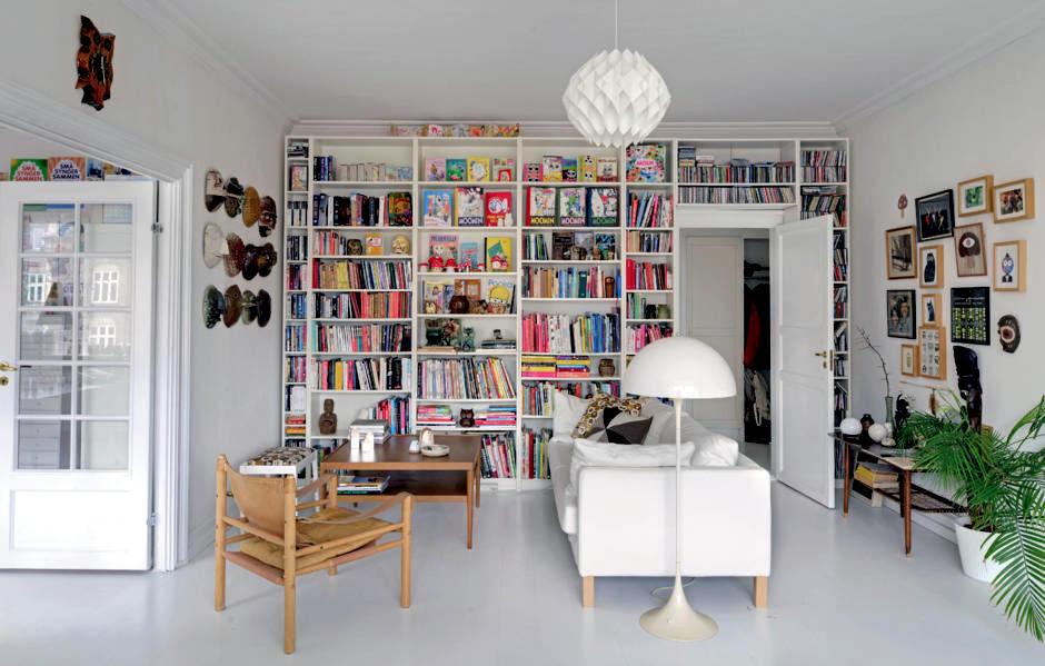 Books Wall As Wall Decor Interior Design Ideas Ofdesign