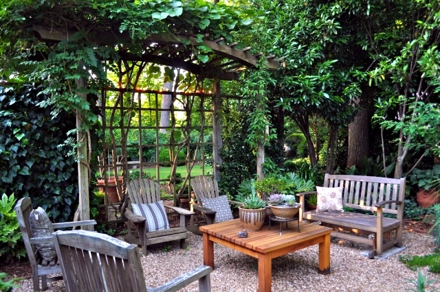 Keep Prying Eyes   Privacy Patio With Plants