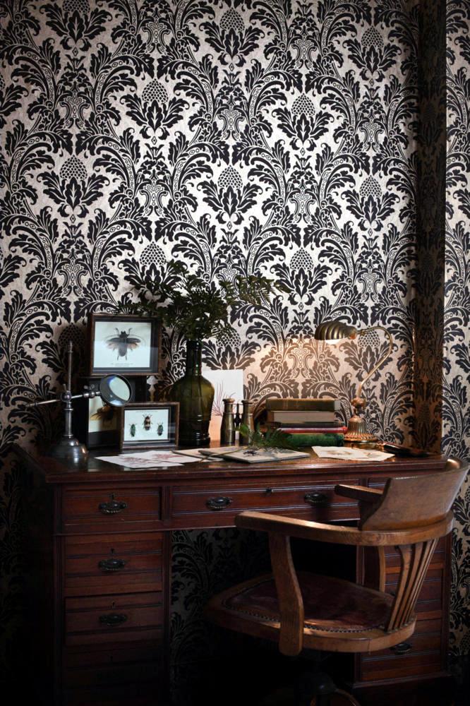 Flair British Study Interior Design Ideas Ofdesign