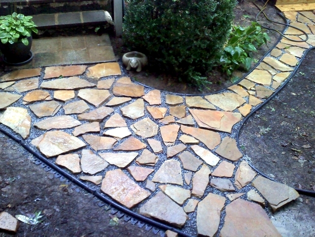 Creating a beautiful garden paths - For wide