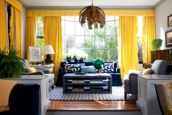 33 ideas for curtains and draperies evoke the home comfort