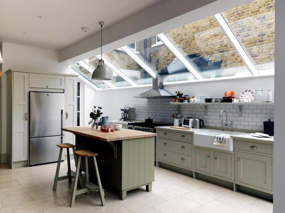 Green Kitchen Interior Design