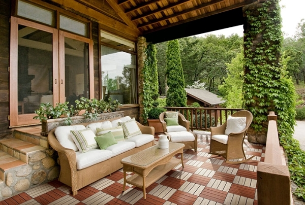 Select Wooden Tiles For The Balcony What Types Of Wood