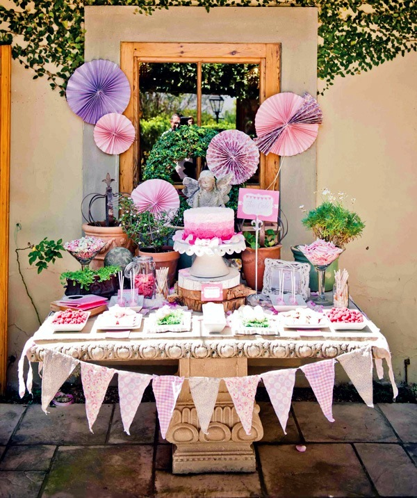 Celebrate Baby Birthday Decorating Ideas Beautiful Girls