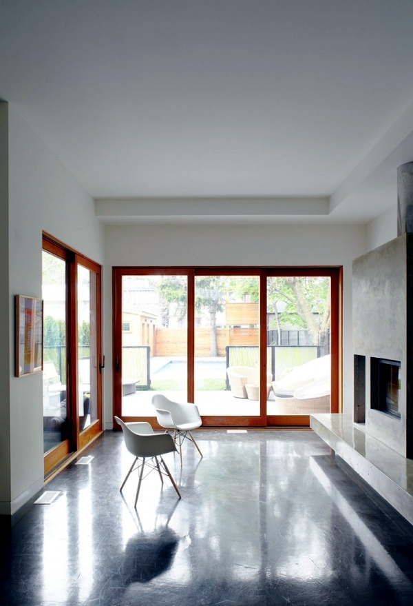 Wooden house with a modern design creates sustainable mindset