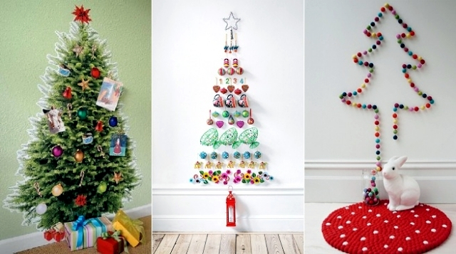 Making trees and stars garland itself – Christmas Decorations ...