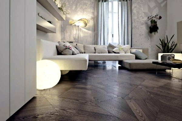 Embarrassed Parquet - setting the direction poses with space and lifestyle