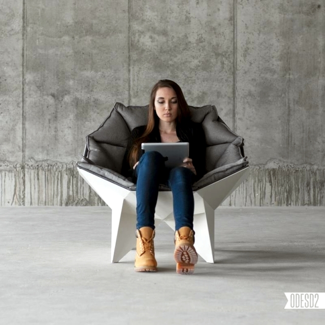 Design inspired chaise Q1 geodesic domes