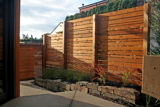 Make your garden care tips useful wooden fence-time