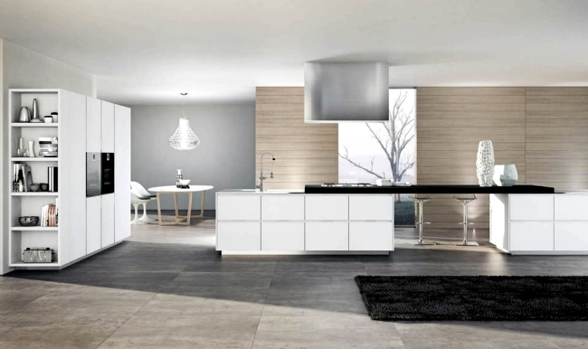 "Modern Kitchen Series ""Domus"" - clear lines and simple elegance"