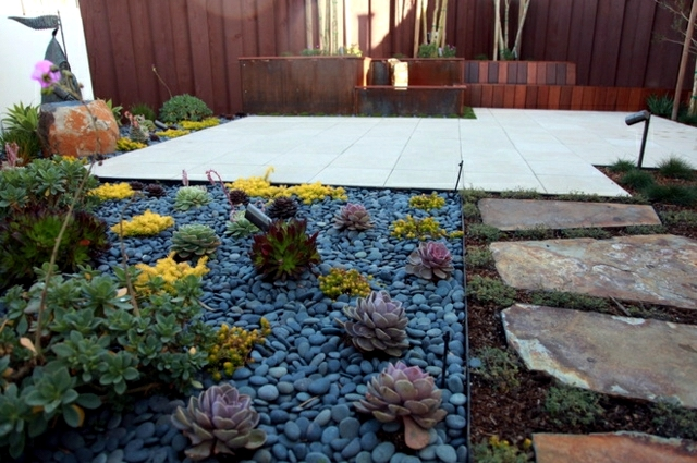 The Creation Of The Garden Path Pavement Gravel Or Wood
