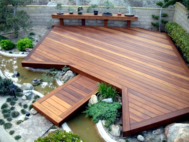 Lovely Wooden Terrace Design   25 Inspirational Ideas