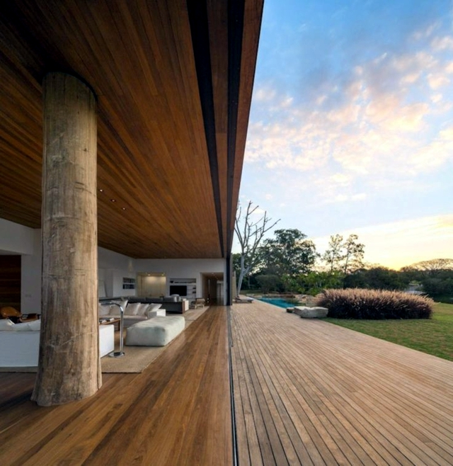wooden terrace design - 25 inspirational ideas