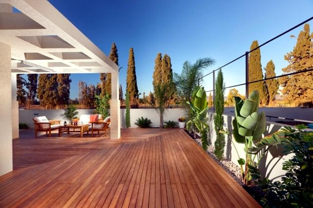 wooden terrace design - 25 inspirational ideas