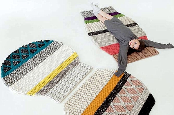 Contemporary Rugs At One Point Bring Comfort To The Living