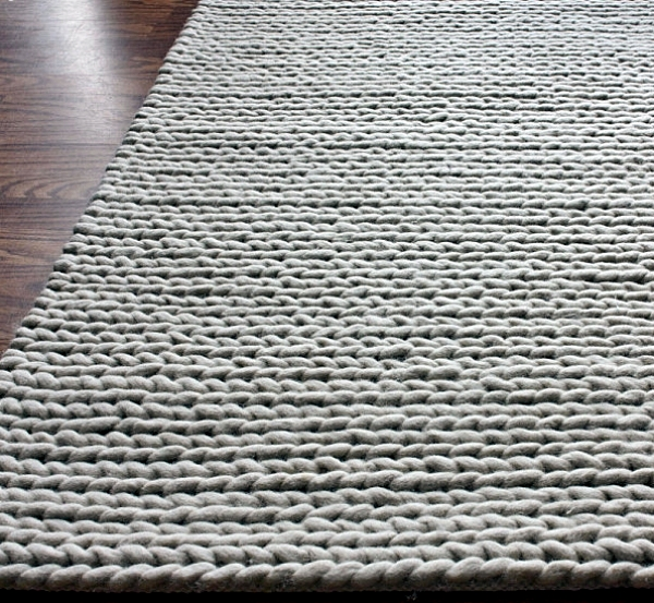 Contemporary rugs at one point bring comfort to the living room