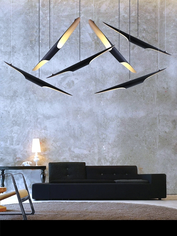 Modern design lamps – design ideas for room design with light ...