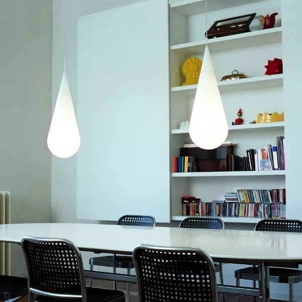 Modern design lamps - design ideas for room design with light