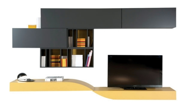 Wall of modern life - module system provides individuality of life
