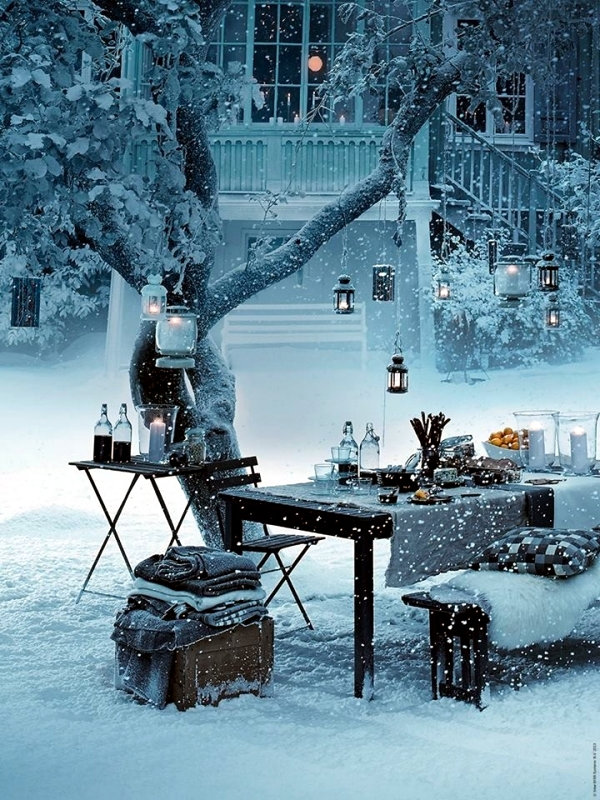 Winter Decoration Ideas Conspiracy To Initiate