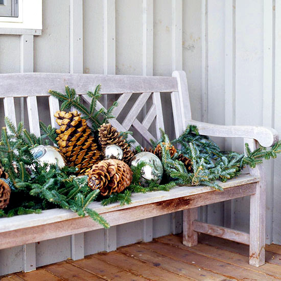 18 ideas for Christmas decorations in the garden or on the balcony to make your own